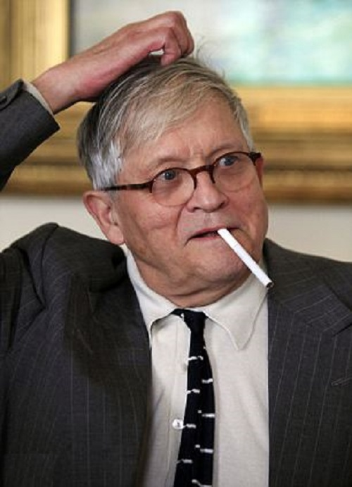Surprised David Hockney