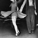 Forgotten era of energetic Swing dance