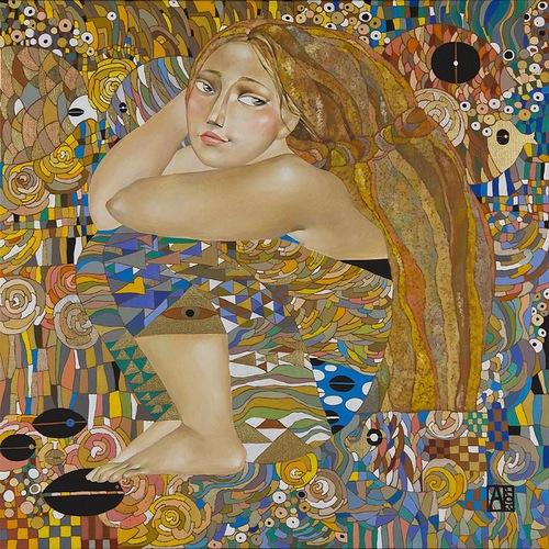 Painting by Akzhana Abdaliyeva