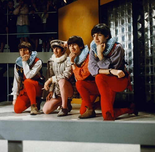in Around the Beatles scene. During the film the singing quartet do a take-off from Midsummer Night's Dream