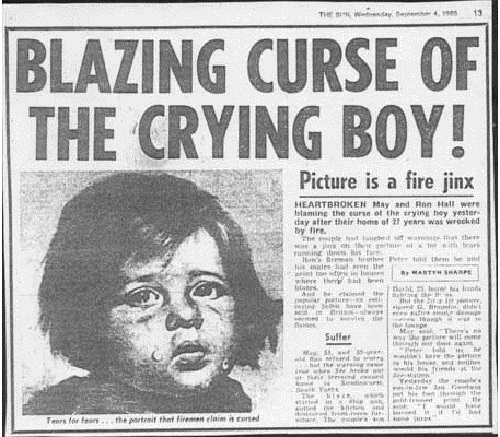 Crying Boy Curse