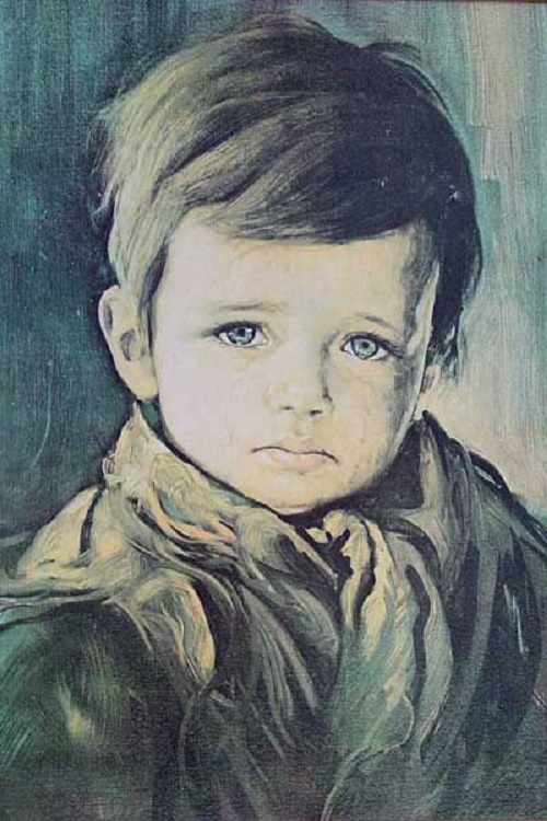 Meanwhile, even copies of the painting can bring bad luck. Curse of the Crying Boy