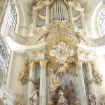 The Dresden Frauenkirche Lutheran church