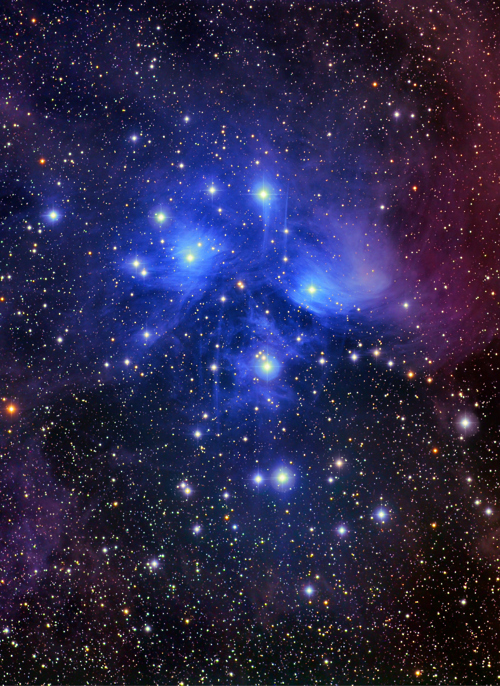 The Jewel Box Star cluster