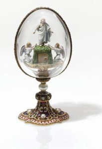The Resurrection of Christ. Russian jeweler Carl Faberge