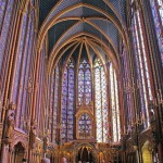 The Royal medieval Gothic chapel St-Chapelle, Paris