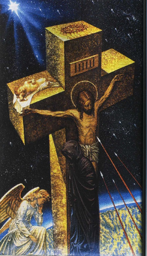 'The Star of Bethlehem'. Painting by Russian Orthodox artist Valery Balabanov