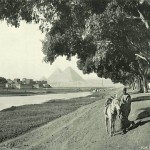 The road to Giza. Egypt in retro photographs of 1870