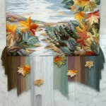 Three-dimensional non-woven tapestry by Armenian artist Yuri Hovsepian
