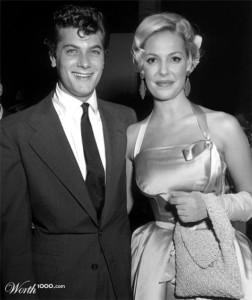 Tony Curtis and Katherine Heigl