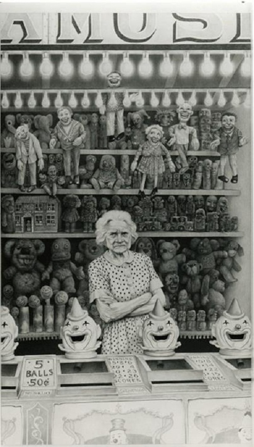 Too Long At the Fair, pencil on paper