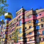 Unique architecture by Friedensreich Hundertwasser