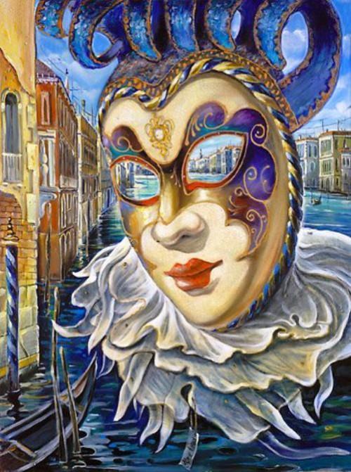 Venetian Fantasy by Ukrainian artist Alex Levin