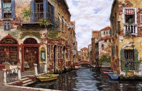 Painting by Cao Yong, Venice