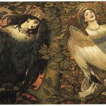 V. Vasnetsov. Sirin (left) and Alkonost Birds of Joy and Sorrow (1896)