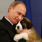 Advocate for animals Vladimir Putin