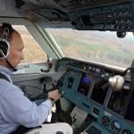 Pilot Vladimir Putin