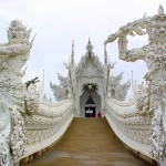 Wat Rong Khun - White temple in Thailand