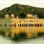 Beautiful Jal Mahal Water Palace in India