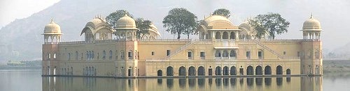 Amazing Water Palace Jal Mahal in India