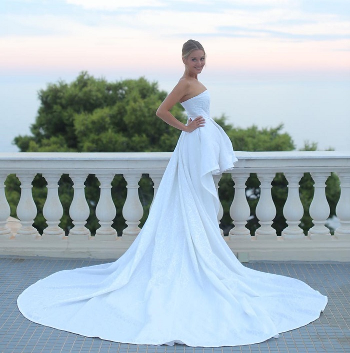 Wedding dress of Maria Kozhevnikova