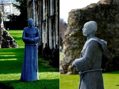 Wire sculpture by English Artist Derek Kinzett