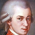 Famous composer Wolfgang Amadeus Mozart