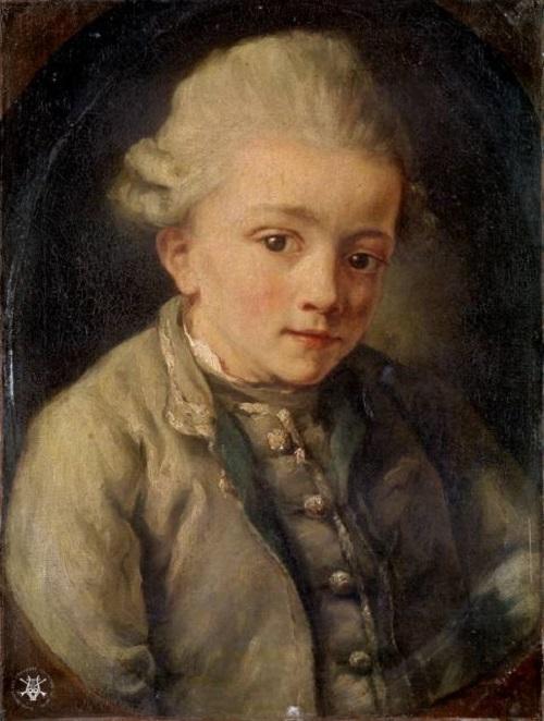 Little Wolfgang Amadeus Mozart