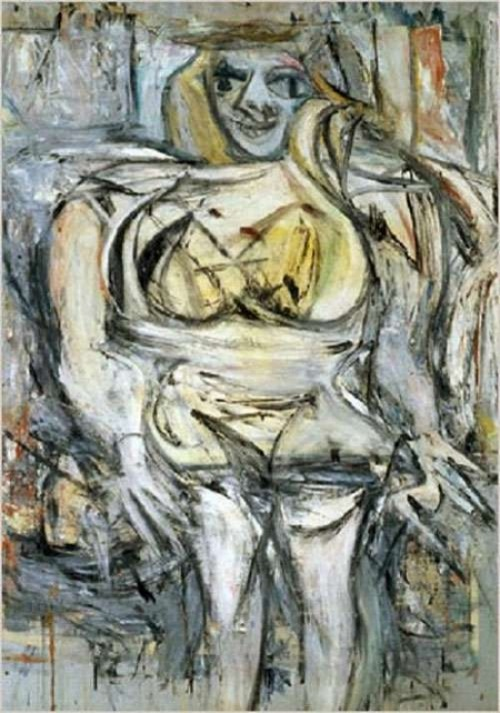 most expensive paintings ever sold. Woman III by Dutch abstract expressionist artist Willem de Kooning, $154.0