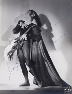 Serge Lifar as Albrecht in 'Giselle', 1932
