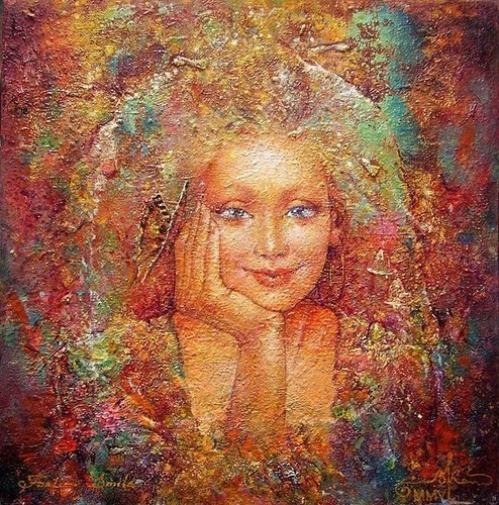 Happiness. Surreal art by Ukrainian artist Valery Kot