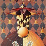 Card game. Surreal art by Ukrainian artist Valery Kot
