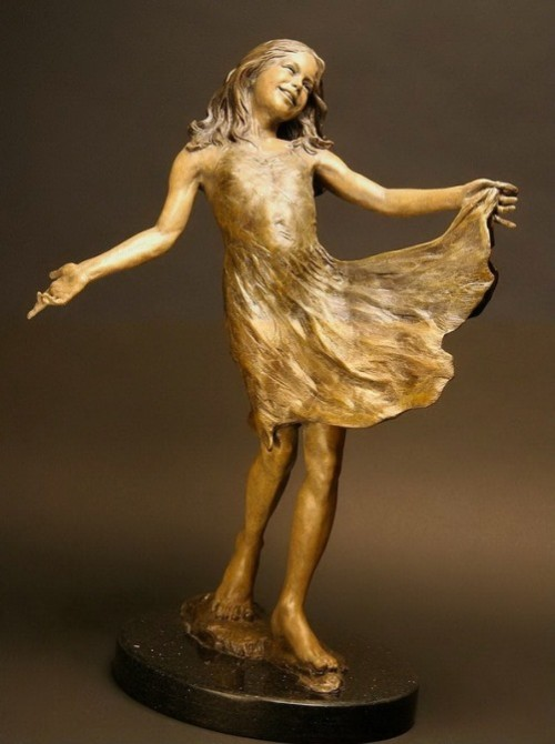 Beautiful Sculpture by Angela Mia De La Vega