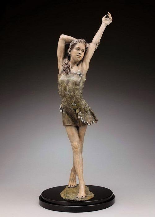 Stunning Sculpture by American artist Angela Mia De La Vega