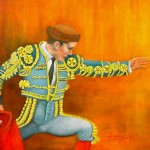 Paintings by Lisa Fittipaldi blind artist