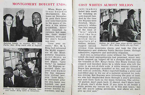 End of bus boycott
