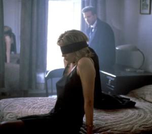 Besinger as Elizabeth McGraw and Rourke as John Gray