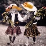Romantic vintage children by German photographer Kim Anderson