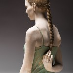 Ricordi-Infanzia, hyperrealistic sculptures of wood by Bruno Walpoth