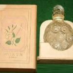 Rose worth lalique perfume bottle