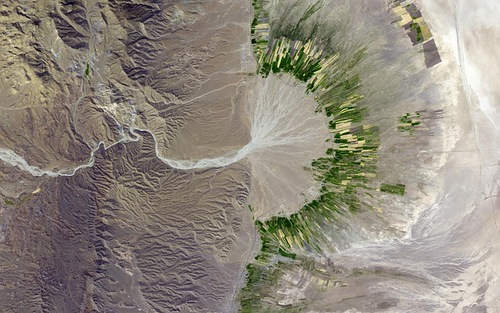 Earth Observatory Photographs - Iran
