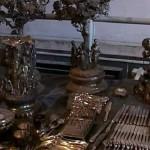 Treasures found in the restored building in St Petersburg