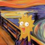 Inspired by Edvard Munch's Scream
