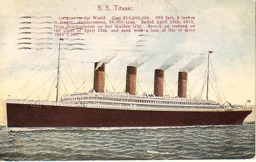 Tragedies of the World. The Titanic