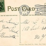 New York published postcart