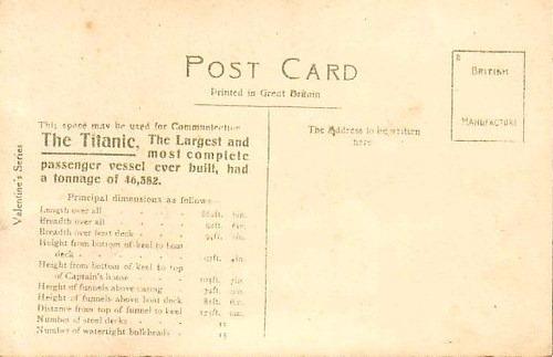 Printed in Great Britain postcard