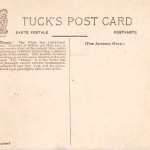 Tuck's postcard printed in England
