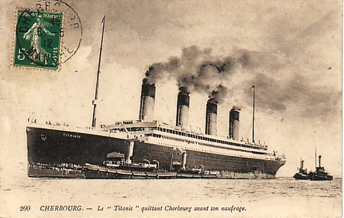 Cherbourg - the Titanic