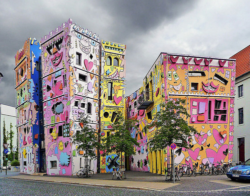 The Happy Rizzi House in Germany