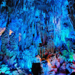 Located in Guilin, Guangxi, China, beautiful cave